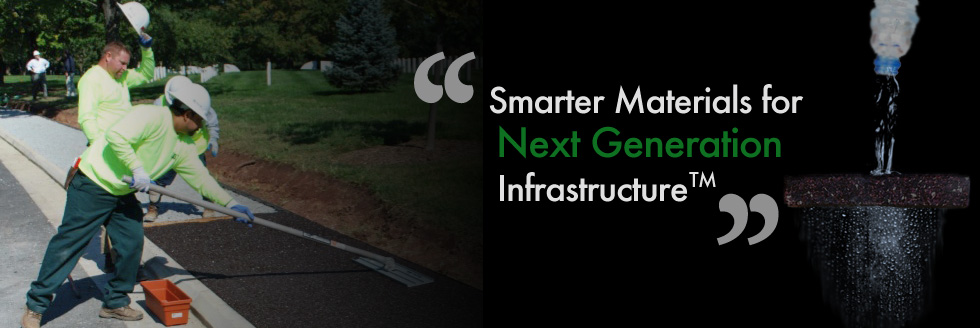 Smarter materials for next generation infrastructure